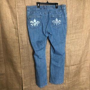 Chico's Jeans - Chico's Platinum Lightwash Denim Jeans 3 16 Light